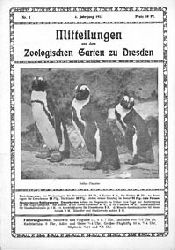 Zoo Dresden   Mitteilungen aus dem Zool. Garten zu Dresden, 4. Jahrgang, Nr. 3