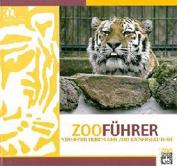 Zoo Kaiserslautern  Zooführer - Streifzug durch den Zoo Kaiserslautern (2. Auflage, Tiger, links Tigermuster)