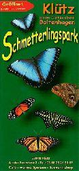 Schmetterlingspark Klütz (beim Ostseebad Boltenhagen)  Faltblatt