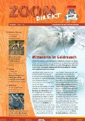 Ruhr-Zoo Gelsenkirchen  Zoom direkt. Ein Newsletter des Ruhr Zoo Gelsenkirchen. Ausgabe 3, August 2004