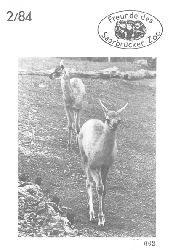 Zoo Saarbrücken  Zeitung der Freunde des Zoos, Ausg. 2, 1984