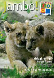 Zoo Hannover     Jambo!, das Magazin für ZooCard-Kunden, Sommer 2011