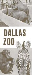 Dallas Zoo  Faltblatt Dallas Zoo, souvenir folder