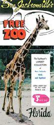 Free Zoo  Faltblatt See Jacksonville