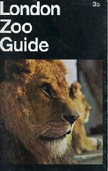 London Zoo    Zoo Guide (Löwe) 1969/70