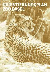 Zoo Basel  Orientierungsplan (Gepard)