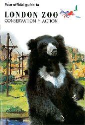 London Zoo    Guide Book (Lippenbär, inkl. Postkarte, Faltplan und -blätter)