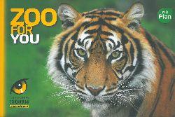 Schönbrunner Tiergarten  Zooführer (Tiger) ohne Plan