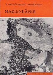 """""""Klausnitzer, Bernhard; Klausnitzer, Hertha""""  Marienkäfer. Coccinellidae. (Neue Brehm-Bücherei, Heft 451) 1. Auflage"""