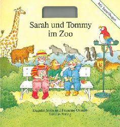 """""""Stam, D.; Oomen, F.""""  Sarah und Tommy im Zoo (Mit Bastelbogen)"""