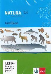 Natura 5/6. Biologie für Gymnasien. Grafiken CD-ROM für PC