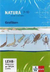 Natura 7-10. Biologie für Gymnasien. Grafiken [9783120452027]