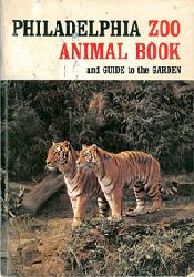 Philadelphia Zoo  Zoo Animal Book and Guide to the Garden, 1. Auflage (Tiger) rote Schrift