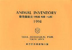 Tama Zoo, Tokio  Animal Inventory 1994 (Tierbestand)