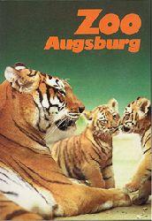 Zoo Augsburg  Wegweiser, 2. Auflage (Tiger)