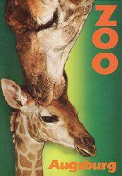 Zoo Augsburg  Wegweiser, 3. Auflage (Giraffen)