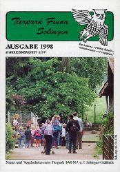 Tierpark Fauna Solingen  Jahresbericht 1997