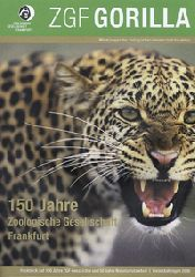 Zoologische Gesellschaft Frankfurt  ZGF Gorilla 1/2008 - Jubiläumsheft - 150 Jahre Zoologische Gesellschaft Frankfurt