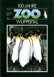 Zoo Wuppertal    100 Jahre Zoo Wuppertal. Sonderheft der Bergischen Blätter