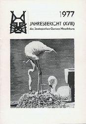 Zoo Magdeburg  Jahresbericht (18) 1977