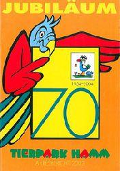 Tierpark Hamm  Jahresbericht 2003 - Jubiläum - 1934-2004