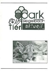 Tierpark Kaiserslautern-Siegelbach  Tierpark Kaiserslautern-Siegelbach aktuell 12/92