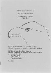 Amsterdam Zoo  White-Tailed Sea Eagle. European Studbook Vol. 1