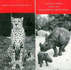 Zoo Basel  Kleiner Führer durch den Zoologischen Garten Basel (Nashorn/Gepard) (Erw.: Fr. 1.50)