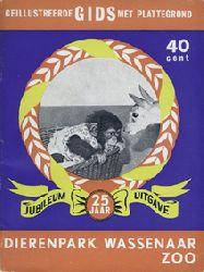 Dierenpark Wassenaar  Gids (Schimpanse), Jubiläumsausgabe 25 Jahre, ohne Lageplan