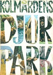 Zoo Kolmarden  Parkführer (Schriftzug mit verschiedenen Tieren)