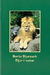 Borasparken  Zooführer (Löwe vor grünem Hintergrund)