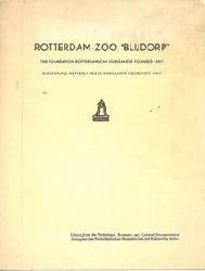Blijdorp Zoo, Rotterdam  Rotterdam Zoo - Auszug aus dem Ökonomischen und Kulturellen Archiv