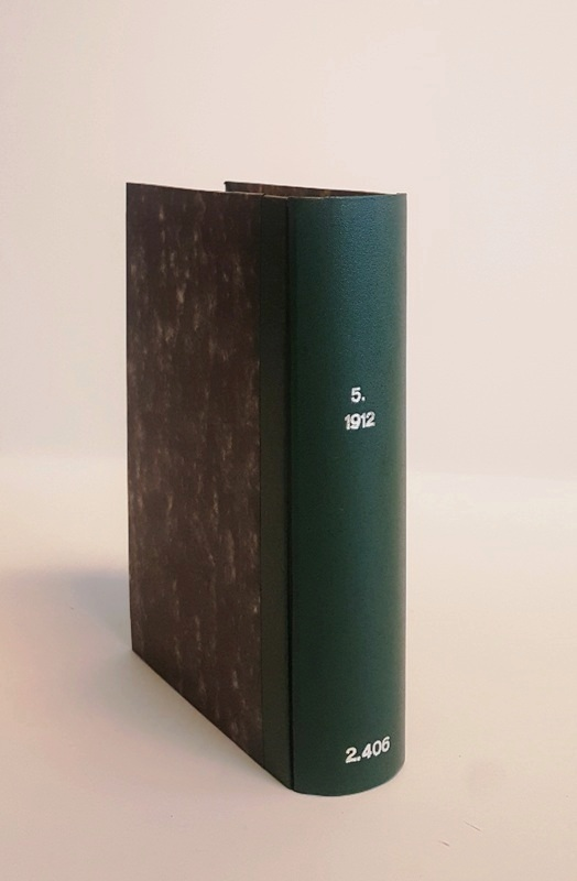 Official Year Book of the Commonwealth of Australia, containing Authoritative Statistics for the Period 1901-1911 and Corrected Statistics for the Period 1788 to 1900. No. 5, 1912.