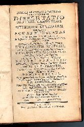 Heilbäder - Staehling, Josephus Franciscus  Dissertatio inauguralis chemico-medica sistens methodum genealem explorandi aquas medicatas.