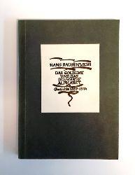 Bausenwein, Hans  Signiertes Exemplar - Das goldene und das schwarze Alphabet. Gedichte 1957-1974. Als Manuskript gedruckt.
