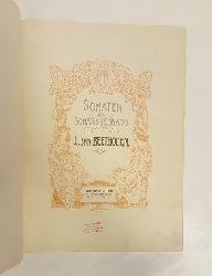 Beethoven, Ludwig van  Sonaten. Sonates. Sonatas. Revidiert und hrsg. von Ant. Door. Bd. 2.