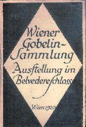 Katalog der Gobelinausstellung im Belvedereschlosse in Wien, Mai bis Juli 1920. Hrsg. durch die Staatliche Lichtbildstelle Wien.