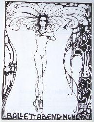 Tanz -  Ballettabend 1972. Masquerade - Paysage Triste - Der Dreispiz. Programmheft Nr. 14 der Vereinigten Bühnen Graz Steiermark.