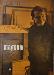magnum. Zeitschrift für das moderne Leben. Heft 9, Mai 1956: Die Welt an einem Punkt.