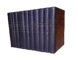 Lessing, Gotthold Ephraim  Gesammelte Werke. Neue rechtmäßige Ausgabe. 10 Bände (Komplett)
