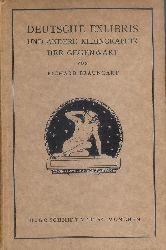 Braungart, Richard  Deutsche Exlibris und andere Kleingraphik der Gegenwart.