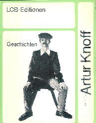 Grass, Günter - Knoff, Artur (d. i. G. Grass)  Geschichten.