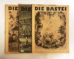 Die Bastei. Österreichische Kulturzeitschrift. Hefte 1-4 des 1. Jahrganges (1946).