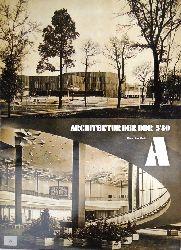 Bauakademie der DDR  Architektur der DDR. Nr. 5/1980.