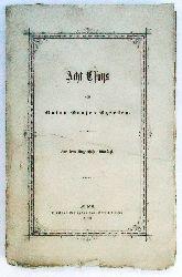 Szecsen, Anton Graf  Acht Essays.