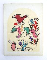 Marc Chagall et la Bible. Exposition au Musée Rath de 30 juin - 26 août 1962.