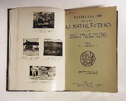 Auswahl von Kunstblättern aus dem Verlag der Gesellschaft für verfielfältigende Kunst + Nachtrag 1913 zum illustrierten Verlagskatalog.