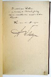 Wildgans, Anton / Rittner, Thaddäus (d. i. Thomasz Czaszka)  Widmungsexemplar - Herbstfrühling. Verse von Anton Wildgans.