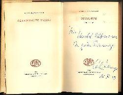 Zuckmayer, Carl  WIDMUNGSEXEMPLAR - Gedichte. 1916-1948.