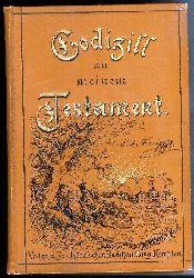 Kneipp, Sebastian  Codizill zu Meinem Testamente für Gesunde und Kranke. Sechste Auflage.